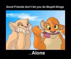friends, alone, and best friends image