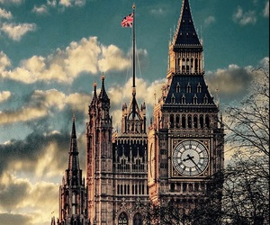 london, site, and Big Ben image