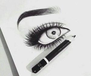 amazing, eyes, and paint image