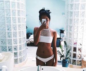 bikini, girl, and summer image