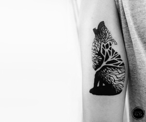arm, arm tattoo, and tattoo image