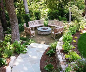 decoration, garden, and sweet home image