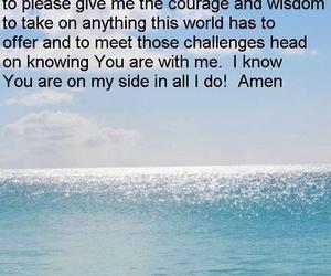 amen, jesus, and quote image