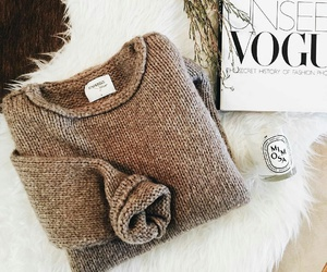 fashion, vogue, and sweater image