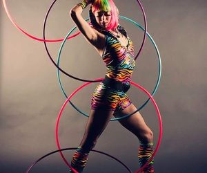 amazing, colors, and hula hoop image