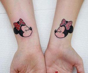 disney, minnie, and Tattoos image