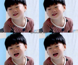 baby, song, and triplets image