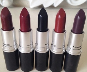 beauty, redlips, and colors image