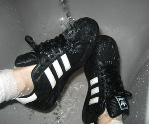 adidas, superstar, and water image