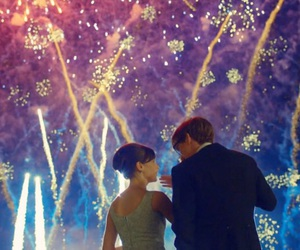 the theory of everything, eddie redmayne, and fireworks image
