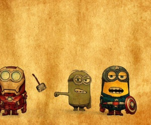 minions, Avengers, and funny image