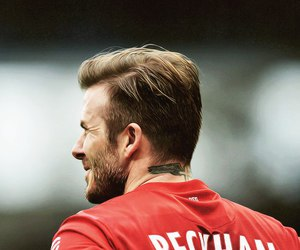 David Beckham, football, and psg image