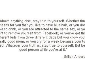 gillian anderson, quote, and quotes image