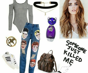 clothing, outfits, and Polyvore image