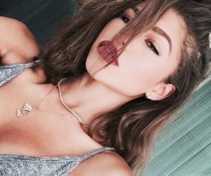 accessories, burgundy, and diamond image