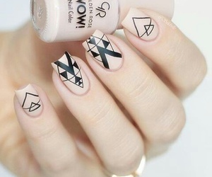 classy, nails, and Nude image