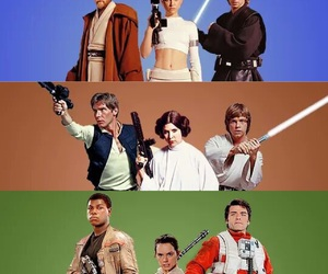 Anakin Skywalker, star wars, and poe dameron image