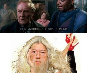 dumbledore, harry potter, and style image