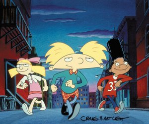 hey arnold, 90s, and childhood image