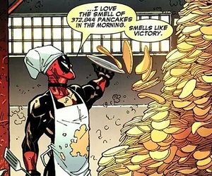 deadpool, pancakes, and comic image