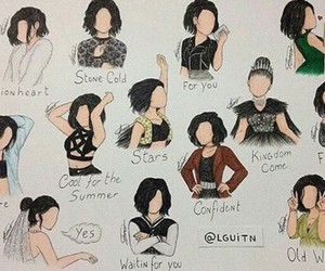 demi, demi lovato, and confident image