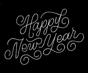 holidays, new year, and happy new year image