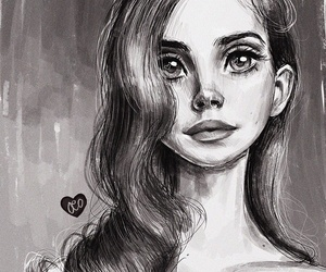 art and lanadelrey image
