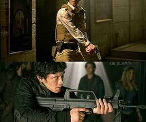 bellamy, Hot, and the 100 image
