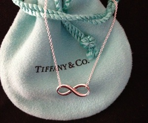 infinity, necklace, and tiffany image