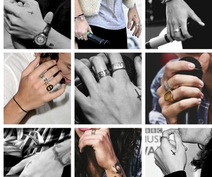 tattoo, hands, and harrystyles image