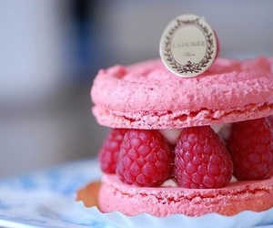 pink, food, and raspberry image
