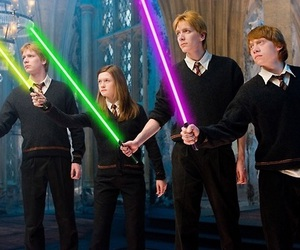 harry potter, ginny weasley, and weasley image
