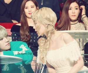 baekyeon, exo, and snsd image