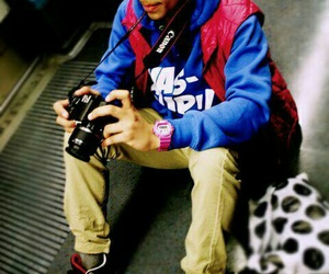 boy, photography, and swag image