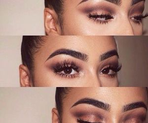 eyes, makeup, and gorgeous image