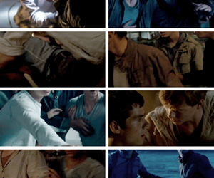 vintage, teen wolf, and the maze runner image
