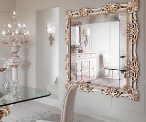 mirror, home, and luxury image