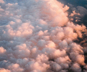 analoge, retro, and clouds image