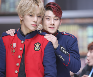kpop, minhyuk, and jooheon image