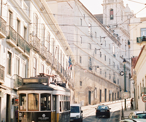journey, portugal, and street image