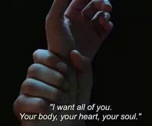 body, heart, and quote image