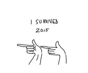 new year, survive, and 2015 image