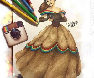 belle, color, and pretty image