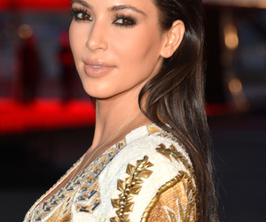 kim kardashian, hair, and hairstyle image
