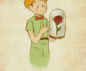 rose and the little prince image