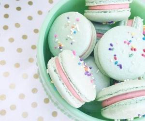macaroons, food, and french image