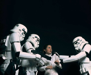 carrie fisher, star wars, and photography image
