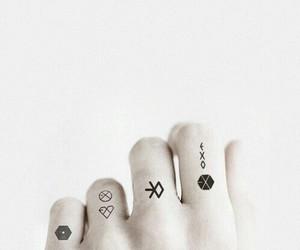 exo and tattoo image