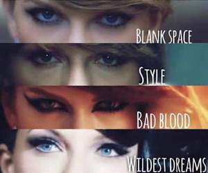 Taylor Swift, out of the woods, and blank space image