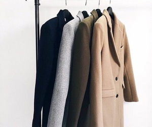 coat, fashion, and style image
